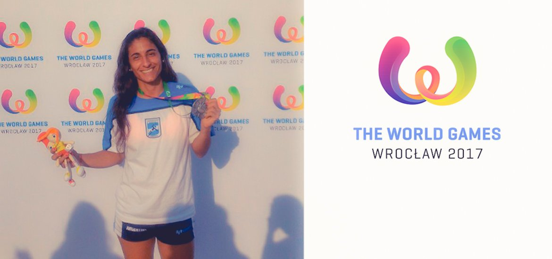 """Rocío Barros, medaglia d'argento con la """"Selection"""" nella World Series"""