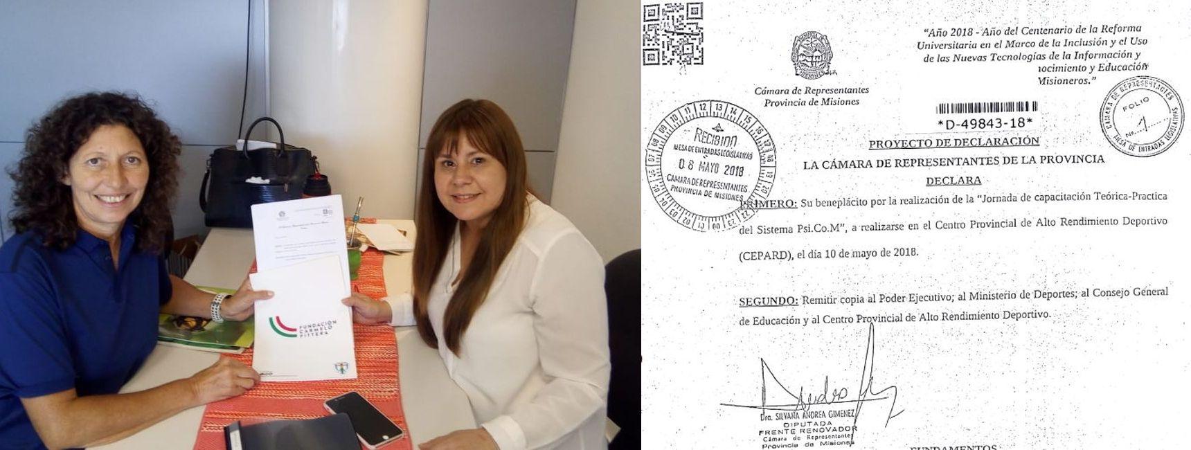 EL PSICOM FUE DECLARADO DE INTERÉS PROVINCIAL POR DIPUTADOS DE MISIONES