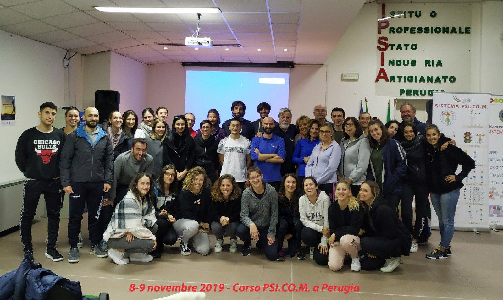 """Corso """"PSI.CO.M."""" a Perugia: nuovo incontro con la Federazione Ginnastica d´Italia."""
